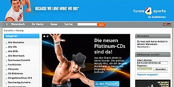 tunes4sports xtCommerce-Shop Programmierung