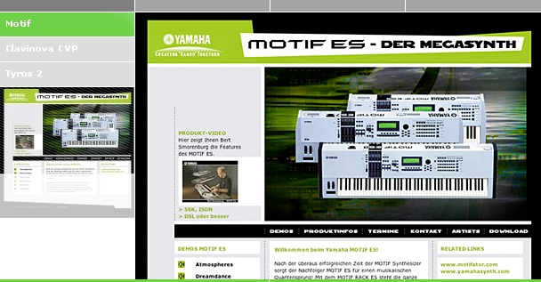 Alster Media homepage Screenshot 2